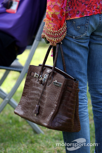 The Handbag of Corina Schumacher, Corinna, Wife of Michael Schumacher