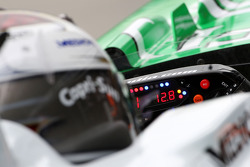 Adrian Sutil, Force India F1 Team, steering wheel