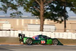 #8 Drayson Racing Lola B09 60 Judd: Paul Drayson, Jonny Cocker, Emanuele Pirro goes off track at Turn 10