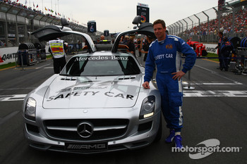 Bernd Maylander, FIA F1 and GP2 Mercedes safety car driver
