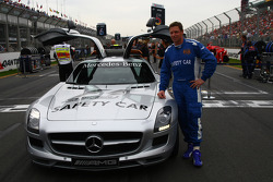 Bernd Maylander, FIA F1 and GP2 Mercedes safety car driver