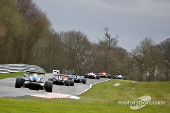 F3 cars heading towards lakeside