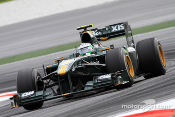 Heikki Kovalainen, Lotus-Cosworth