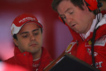 Felipe Massa, Scuderia Ferrari and Rob Smedly, Scuderia Ferrari, Chief Engineer of Felipe Massa