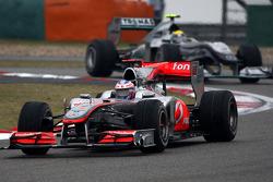 Jenson Button, McLaren Mercedes, Nico Rosberg, Mercedes GP