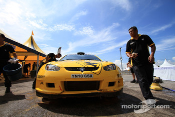 Proton R3 Malaysia mechanic at work