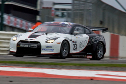 #23 Sumo Power GT Nissan GT-R: Michael Krumm, Peter Dumbreck