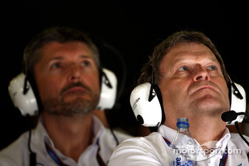 Nick Fry, Chief Executive Officer, Mercedes GP, Norbert Haug, Mercedes, Motorsport chief