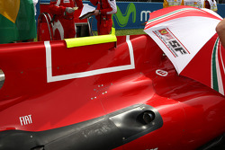 The Engine cover f-duct