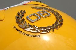 Lewis Hamilton, McLaren Mercedes Monaco editiion helmet with Steinmetz Diamonds