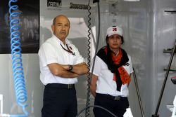 Peter Sauber, BMW Sauber F1 Team, Team Principal, Monisha Kaltenborn, Managing director BMW sauber F1 Team