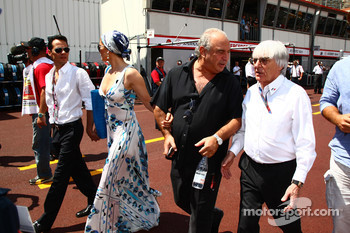 Jennifer Lopez and Bernie Ecclestone