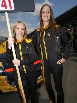 The lovely Opel girls