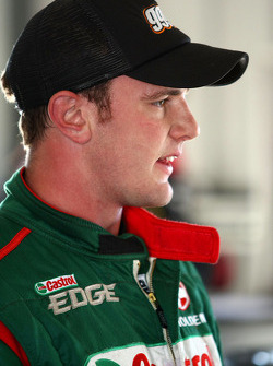 Tim Blanchard test drives the Castrol Edge Racing Commodore