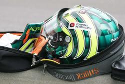 Helmet for Tony Kanaan, Andretti Autosport