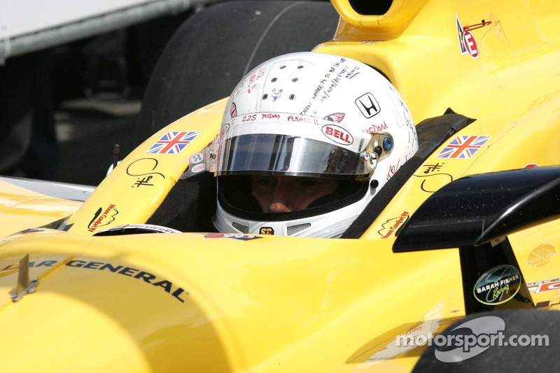 Jay Howard, Sarah Fisher Racing waits to qualify