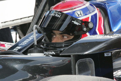 Raphael Matos, deFerran Dragon Racing, waits to qualify