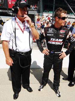 Roger Penske and Ryan Briscoe, Team Penske