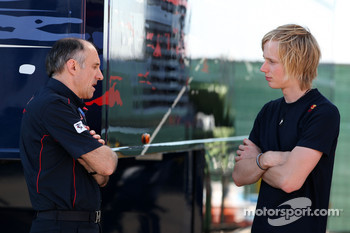 Franz Tost, Scuderia Toro Rosso, Team Principal, Brendon Hartley, Red Bull reserve driver
