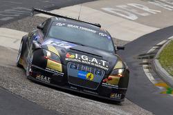 #147 Team Rowe Motorsport Audi TT: Franz Rohr, Uwe Bleck