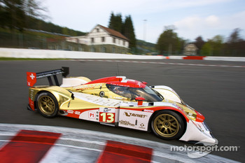 #13 Rebellion Racing Lola B10/60 Coupe Rebellion: Andrea Belicchi, Jean-Christophe Boullion