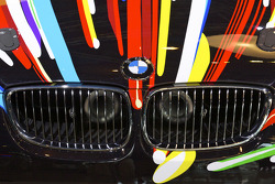 BMW Art Car presentation, Pompidou Center, Paris: the 17th BMW art car detail