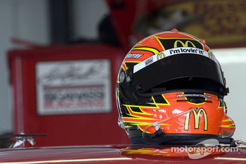 Helmet of Jamie McMurray, Earnhardt Ganassi Racing Chevrolet