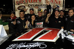 Victory lane: D.J. Kennington