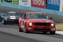 #61 Roush Performance Ford Mustang: Billy Johnson, Jack Roush Jr.