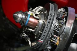 Scuderia Ferrari brake system detail