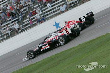 Ryan Briscoe, Team Penske & Dario Franchitti, Target Chip Ganassi Racing