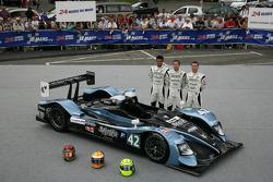 #42 Strakka Racing HPD ARX.01: Nick Leventis, Danny Watts, Jonny Kane