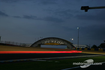 Night impression in Le Mans