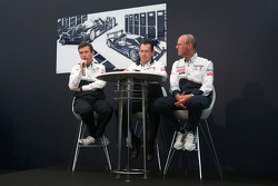 Team Peugeot press conference: Bruno Famin, technical director and Olivier Quesnel, Peugeot Sport director