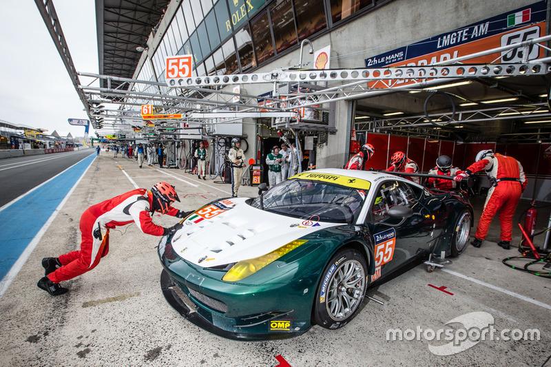 3. LMGTE-Am: #55 AF Corse, Ferrari 458 Italia