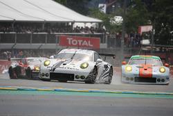 #89 Proton Competition, Porsche 911 RSR: Gunnar Jeannette, Leh Keen, Marc Miller