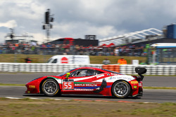 #55 AF Corse: Ferrari 458 Italia GT3: Claudio Sdanewitsch, Stéphane Lemeret