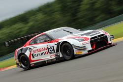 #22 Nissan GT Academy Team RJN Nissan GT-R Nismo GT3: Sean Walkinshaw, Ricardo Sanchez, Matthew Simmons, Romain Sarazin