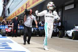 Pole for Lewis Hamilton, Mercedes AMG F1 W07