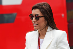 Fabiana Flosi,, wife of Bernie Ecclestone,