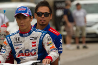 IndyCar 写真 - Takuma Sato, A.J. Foyt Enterprises Honda