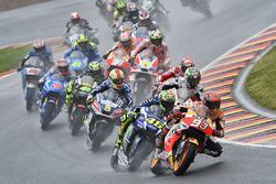 In Führung nach dem Start: Marc Marquez, Repsol Honda Team