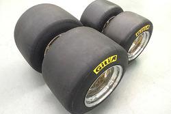 First prototype set of Giti FT5000 tyres