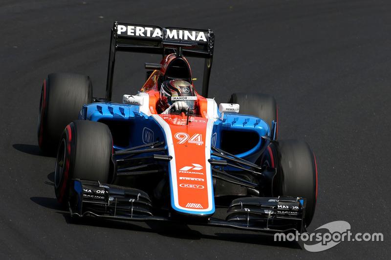19. Pascal Wehrlein, Manor Racing MRT05