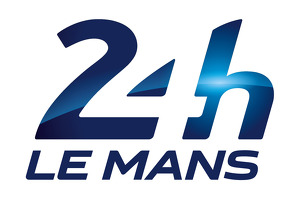 Mücke on the podium at the 24 hours of Le Mans