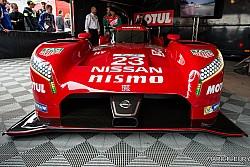 Première apparition publique  Française pour la Nissan GTR LMP 1