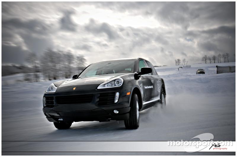 Porsche's in the Snow :-)