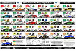 2011 ALMS Spotter Guide