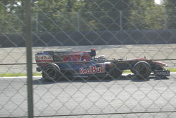 Sebastién Buemi with Toro Rosso-Ferrari