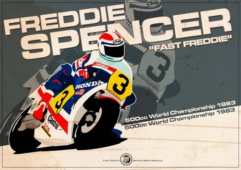 Freddie Spencer - 500cc 1983